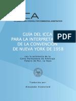 Arbitraje Comercial Conveciones Guia Interpretacion Convencion NY