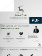 Jesus Fund Pitch