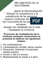 Kleinke 1995 Objetivos de La Psicoterapia