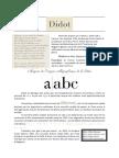Didot Font History