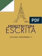 Arquitectura arquitectura escrita