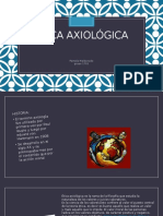 Ética axiológica