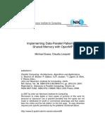 Data Parallel Patterns