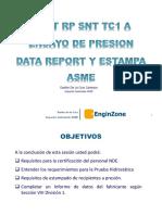 Seminario 10 de Marzo - Estampado y Reporte ASME y ASNT STC 1 a - Danfer de La Cruz