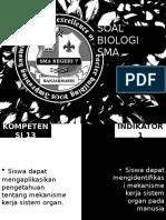 Soal Biologi Sma