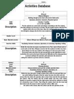 TB Activites Database.doc