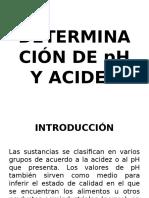 8. Determinación de Ph y Acidez