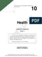 Health10 LM U1