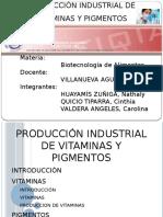 5. Produccion de Vitaminas y Pigmentos