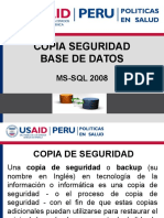 Copia Seguridad Ms-sqlserver
