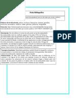 Fichas Bibliograficas Sobre Investigacion Farcep
