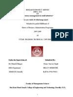 A Case Study of Vishal Mega Mart