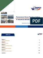 Roadshow Material PT Waskita Beton Precast Tbk - InD
