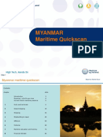 Myanmar Maritime Quickscan Report March 2016