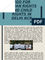 NGO for Human Rights and Child Rights in Delhi NCR