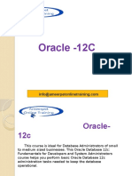 Oracle 12c Architecture 7493015
