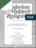 Babylon Mystery Religion - Ralph Woodrow.pdf