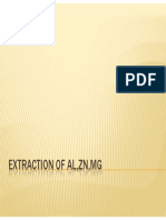 Extraction of Al,Zn,Mg