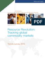 MGI Resource Revolution Commodity Markets Executive Summary Sep2013