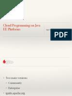 Clouds Java Ee 3