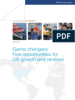 MGI US Game Changers Executive Summary July 2013