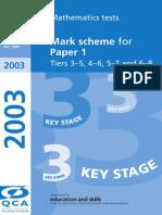 2003 Paper 1