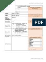 RPH English Kssm Form 1 - Week 1