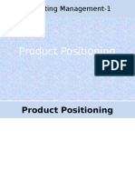 j. Product Positioning & Strategies