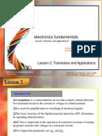 Lesson 2 - Transistors & Applications by Thomas L. Floyd & David M. Buchla.pdf