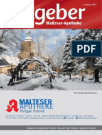 Ratgeber aus Ihrer Malteser-Apotheke – Januar 2017
