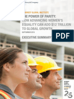 MGI Power of Parity_Executive Summary_September 2015
