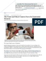 The Point-And-Shoot Camera Faces Its Existential Moment
