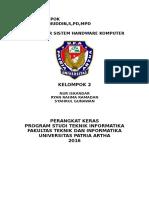 Pengantar Sistem Handware Komputer