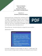 Measure and Integration Mod01 Lec 01
