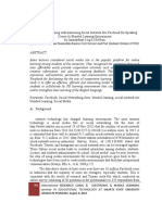 Cooperative Learning With Harnessing Social Network Site Facebook for Speaking Course in Blended Learning Environment-revisi