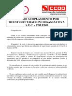 COMUNICADO CCOO-UGT - Reestructuración Organizativa Toledo 170616.pdf