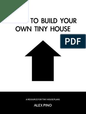 Tiny House Plans Ebook Pdf Pdf