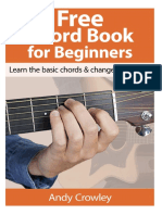Andy Guitar Chord Book