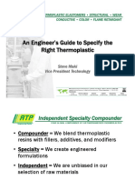An Engineers Guide to Specify the Right Thermoplastic