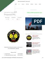 Sedikit Contoh Proposal PKL - Belum Ada Judul