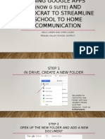 Using Google Apps to Streamline School to Home Communication