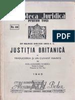 Justitia Britanica