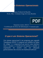 Aula1-Sistemas Operacionais - Fundamentos
