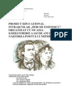 Proiect Doina Eminescu