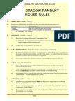 HWC Dragon Rampant House Rules v4