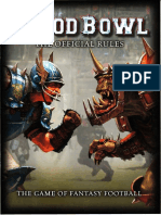 Blood Bowl - The Offical Rules