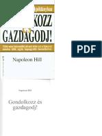 Napoleon Hill - Gondolkozz es gazdagodj.pdf