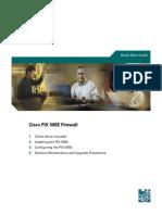 PIX 506E Firewall Quick Start Guide