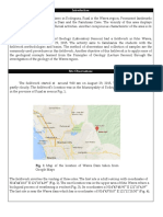 A Geological Field Report about an area in Montalban, Rizal, Philippines