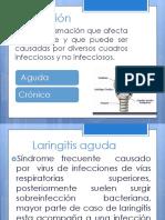 Laringitis Aguda y Cronica